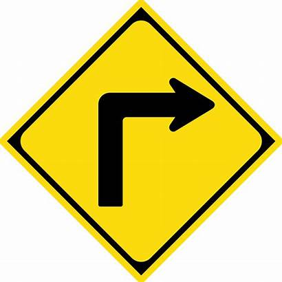 Turn Sign Road Svg Japan Simple Wikipedia