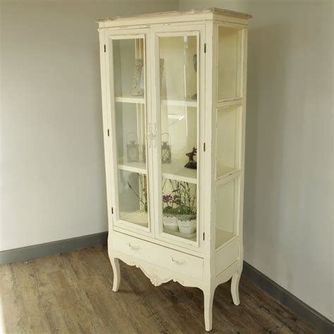 glazed cabinets out of style belfort range cream glazed display cabinet melody maison
