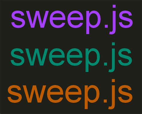 color js sweep js javascript library for smoother color