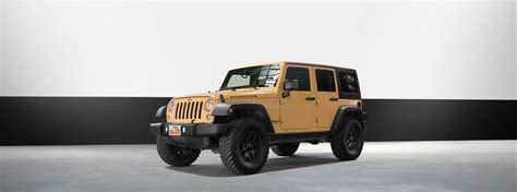 Rent a Jeep Wrangler Rubicon in Los Angeles   B&W Car Rental