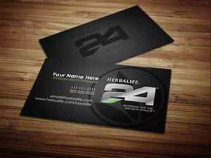 Herbalife business cards on behance for Herbalife business card template