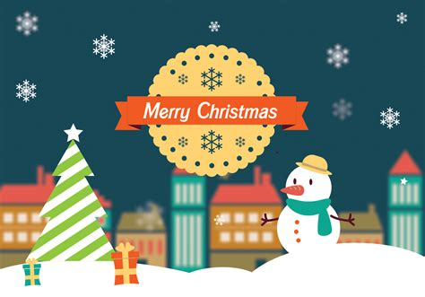 merry christmas landscape vector download free vectors clipart graphics vector art