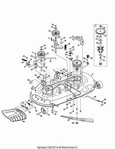 Troy Bilt 13al78kt066 Tb46  2014  Parts Diagram For Mower