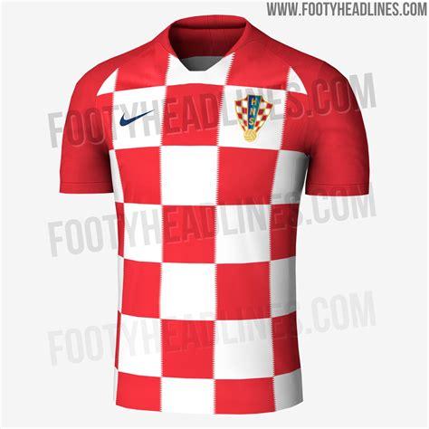 Croatia World Cup Home Kit Released Footy Headlines