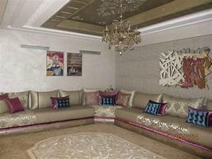 stunning nouveau model salon marocain photos amazing With tapis de couloir avec housse pour recouvrir un canapé
