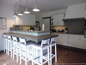 renovation cuisine en chene granit rose en cuisine With renovation cuisine en chene