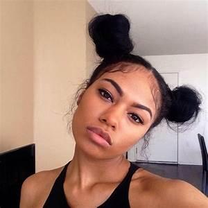 Two Buns Cute Hair Hairstyles Pinterest My Hair