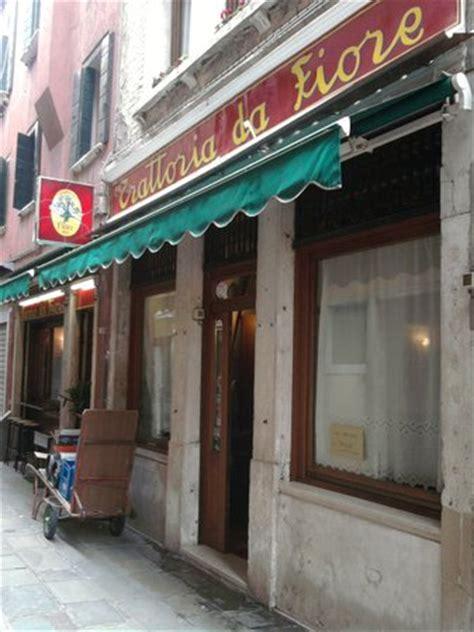 ristorante fiore venezia trattoria da fiore venezia san marco ristorante