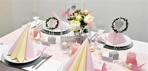 Tischdeko Shop De : tischdekoration zur vintage hochzeit in rosa mit vogelk fig ~ Watch28wear.com Haus und Dekorationen