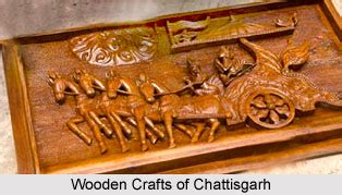 wood crafts  central india