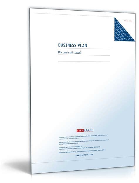 businessplan englisch muster zum