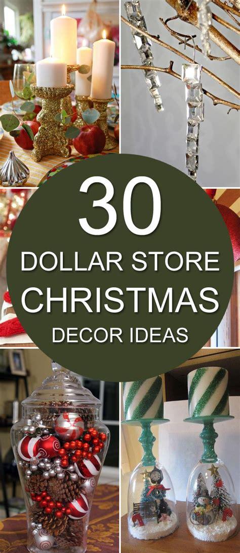 dollar store christmas decor ideas diy home decor