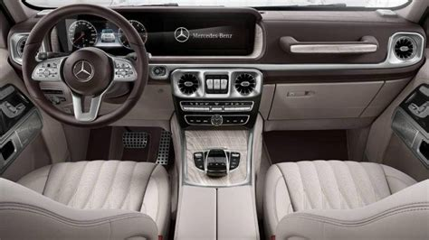 Mercedes Interior 2019 by 2019 Mercedes G Class Interior Photo