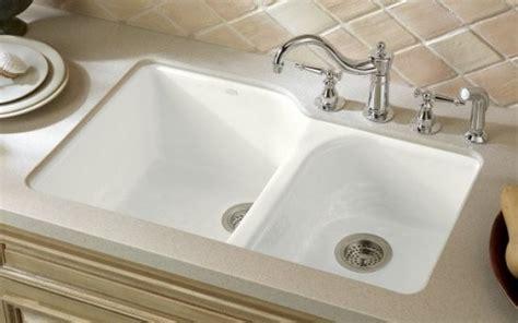 cast iron kohler kitchen sink traditional kitchen sinks denver by plumbingdepot
