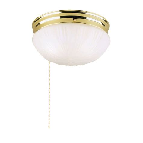 pull chain ceiling light westinghouse 2 light polished brass interior ceiling