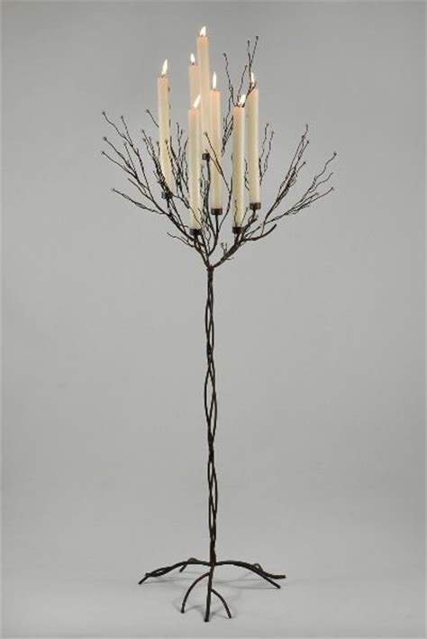 candle tree black 5ft with 7 candleholders floor candle holders wedding and wedding ceremonies