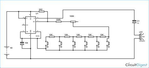 Piano Circuit Diagram Electronic Circuits