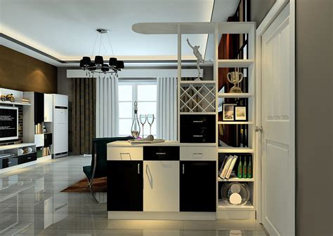 Modern Curtains For Living Room Uk by Practical Style Interior Entrance Partition Cabinet Design