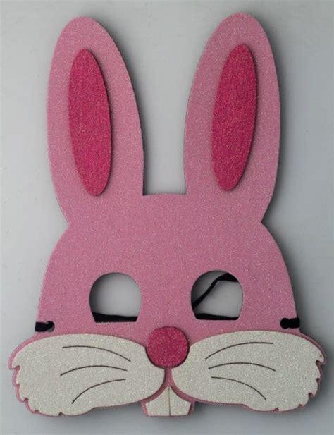 patrones de mascaras de foami mascara conejo imagine products