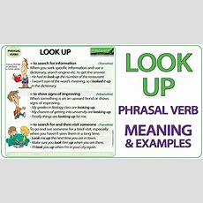 Look Up  Phrasal Verb Meaning & Examples In English Youtube
