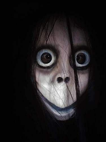 Amazon.com: Creepy Scary Momo Inspired Mask by Jusmade