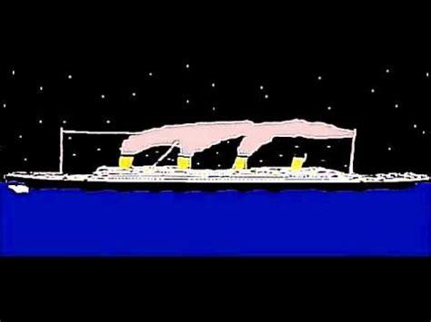 Titanic Sinking Animation 2012 by Animation Titanic Par Xavier