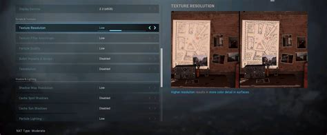 warzone settings graphics cod duty call frondtech