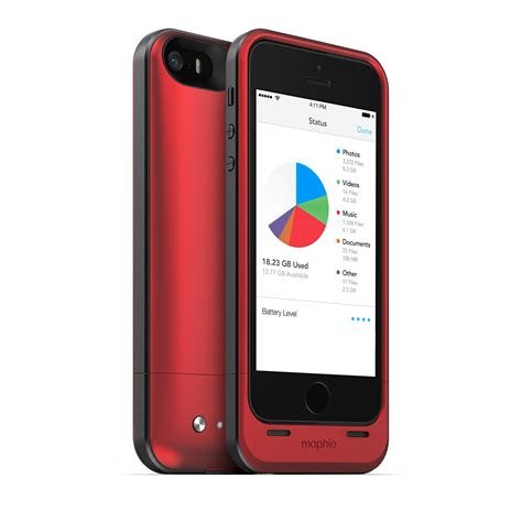 mophie spacepack battery w built in 32gb storage for