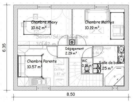 plan maison 150m2 4 chambres plan maison gratuit r 1