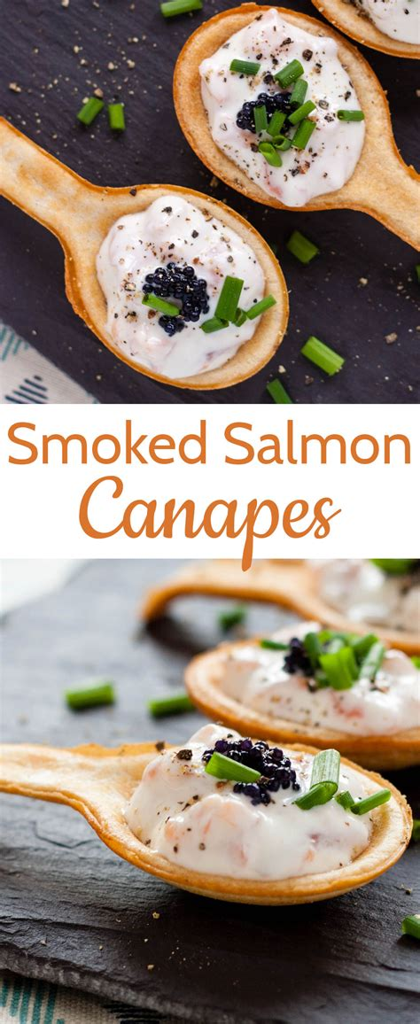 easy smoked salmon canapes recipe simple delicious smoked salmon canapés fuss