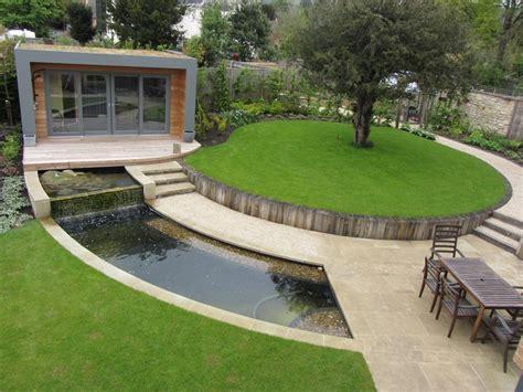 Garten Landschaftsbau Meisterschule Essen by Wasser Im Garten 20 Ideen F 252 R Gartengestaltung Mit Bachlauf