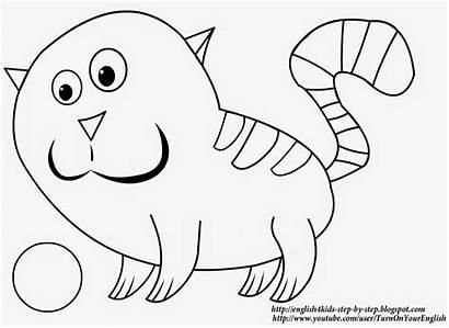 Cat Coloring Letter Song Printable Learning