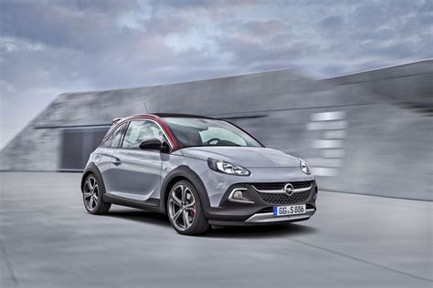 New Opel Adam Rocks S Shows Off Rugged Looks Ahead Of