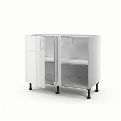 meuble de cuisine angle bas meuble de cuisine bas d 39 angle blanc 1 porte