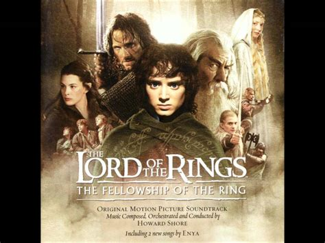 Lotrsoundtrack The Fellowship Of The Ring Youtube