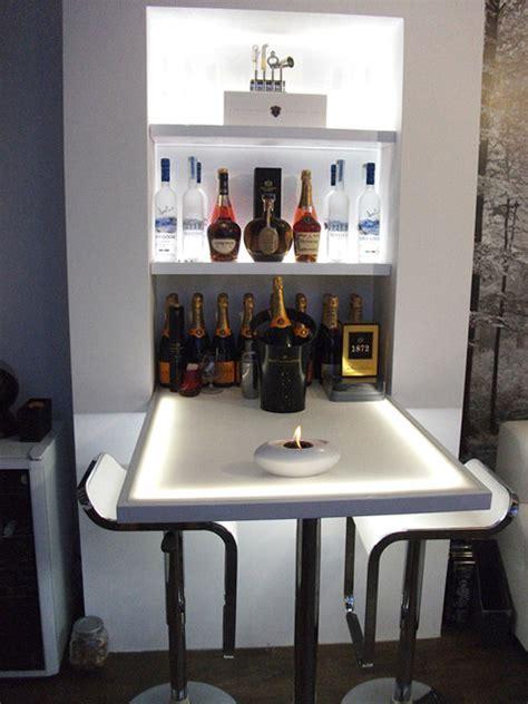home bar modern living room london