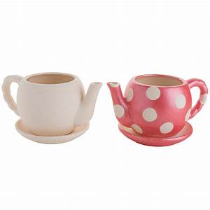 Ceramic DIY Flower Teapot
