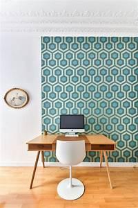 Papier Peint Bureau : bureau d co chez moi scandinave industriel c t maison ~ Melissatoandfro.com Idées de Décoration