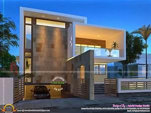 Beautiful contemporary home night views