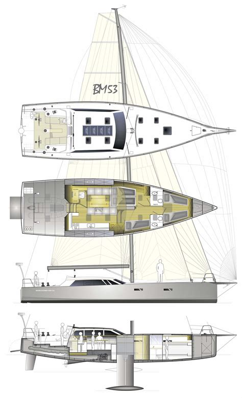 Layout Boat A Vendre by Berckemeyer Yacht Design Plans For Modern And Classic
