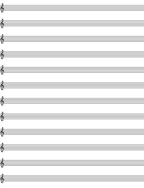blanksheetmusic blank piano sheet  template