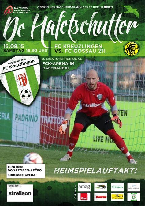 De Hafetschutter FCK vs FC Gossau 15 08 2015 by FCK1905 ...