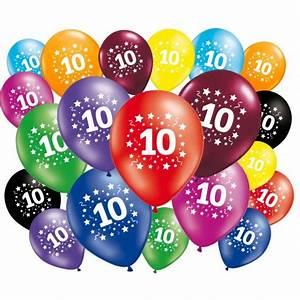 Deco Anniversaire 10 Ans : ballons 10 ans anniversaire ~ Melissatoandfro.com Idées de Décoration