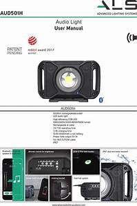 Aec Lighting Solutions Aud501h Led Audio Light User Manual