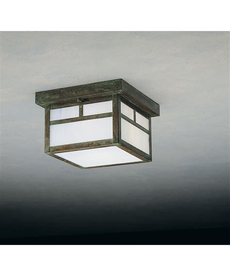 collection  mission style outdoor ceiling lights