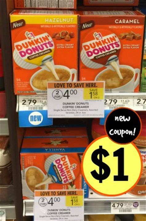 Made with real cream & sugar, extra extra creamer singles are shelf stable and ready to make the dunkin' run when you are. Good Deal on Dunkin' Donuts Coffee Creamer Singles at Publix - Who Said Nothing in Life is Free?