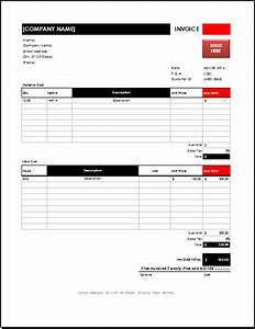 ms excel electrician invoice template excel invoice With electrical invoice template excel