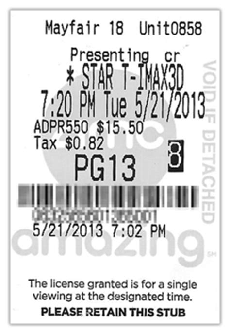 Submit Your Ticket Price Reports for Movie Theaters! - The