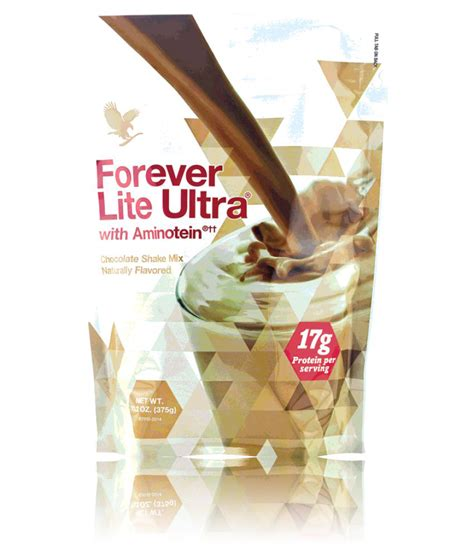 Forever lite ultra (chocolate) 375 gm Vitamins Powder: Buy