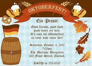 Birthday Invitation Design Oktoberfest Invitations Expressions Paperie Oktoberfest